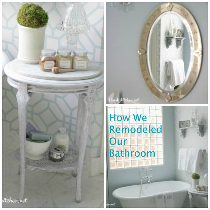 See How We Remodeled our Master Bathroom ~ From 90's blah to spa elegance