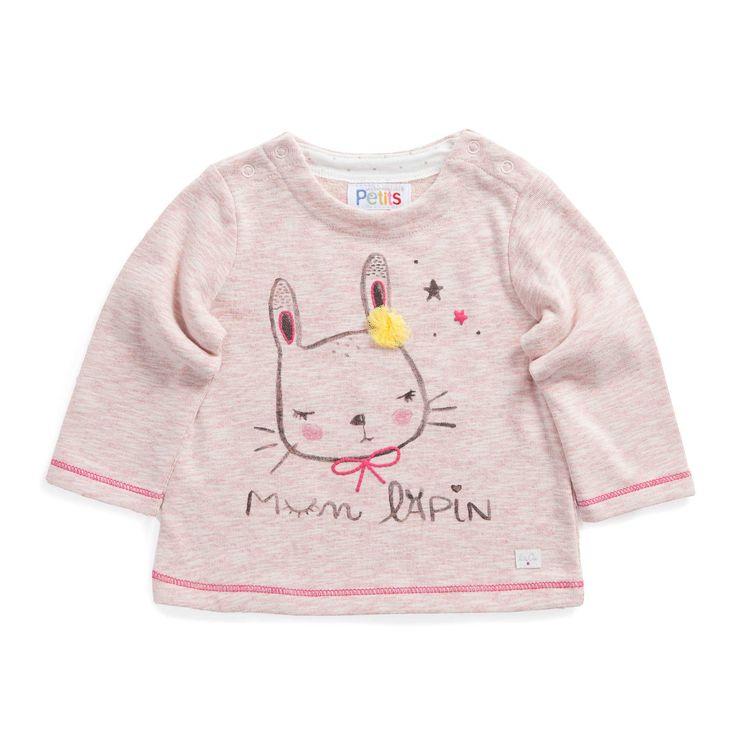"""T shirt """"Un amour de lapin"""""""