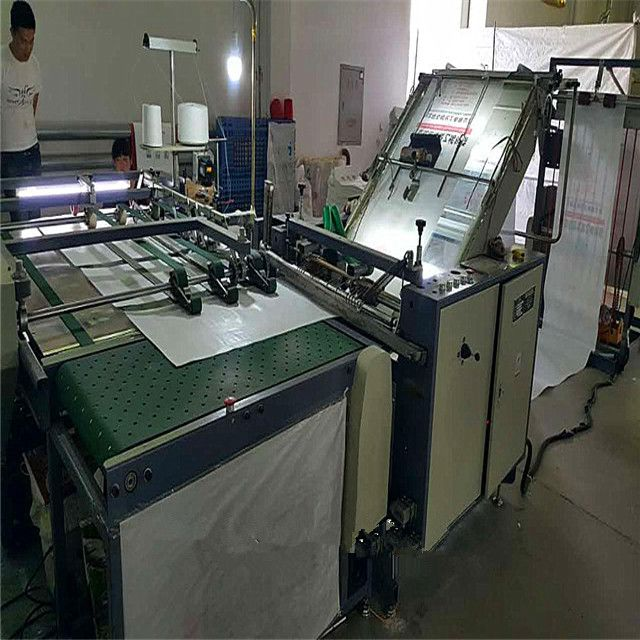 Intergrated sewing cutting and printing for digital plastic bag printing machine