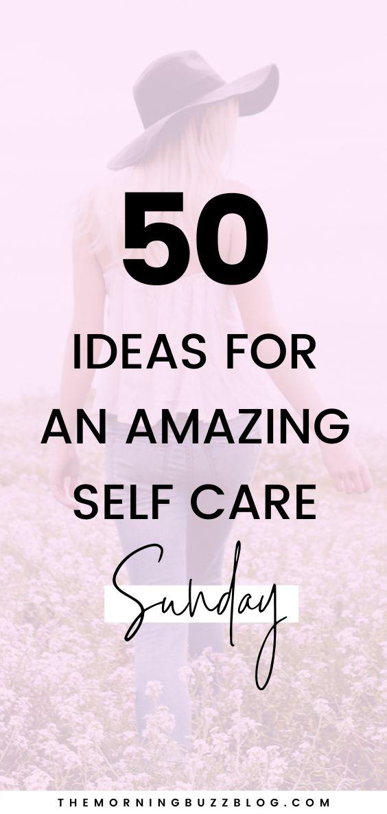 50 Self-Care-Ideen zur Verbesserung Ihrer psychischen Gesundheit, wenn das Leben schwierig wird. Liebe …   – Share All Your Pins (Group Board)