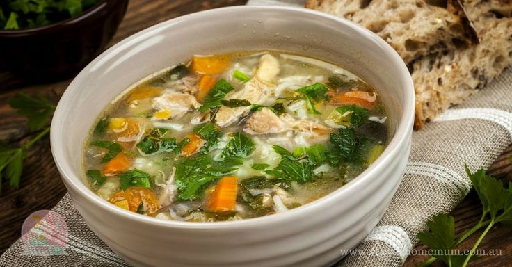 Iron Vegetable Soup