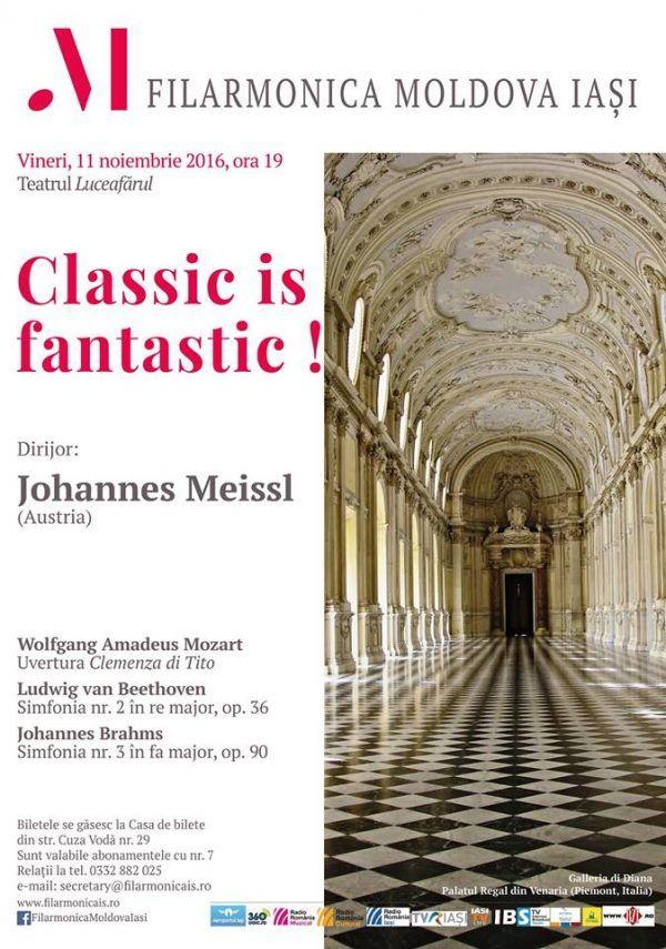 """""""Classic is fantastic"""" – concert simfonic"""
