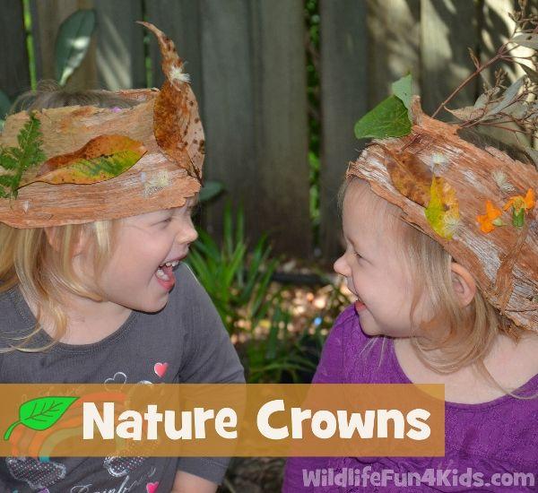Easy Nature Crowns for Kids @penny shima glanz shima glanz - Wildlife Fun 4 Kids