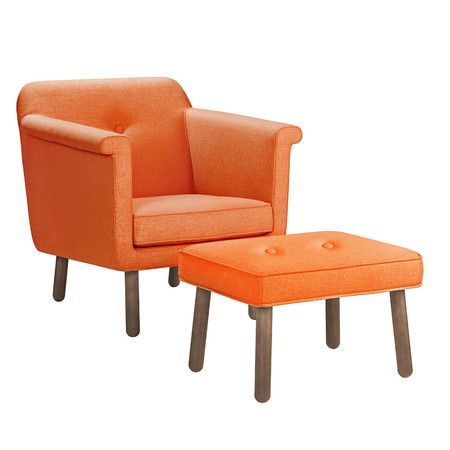 Orla Kiely Accent Chair Orange Chair Dining Chairs