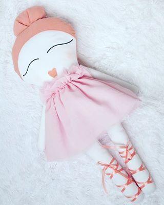 Miss Aurora. Lala XL - 80 cm.  #handmade #dollmaker #zabawki #kidsroom…