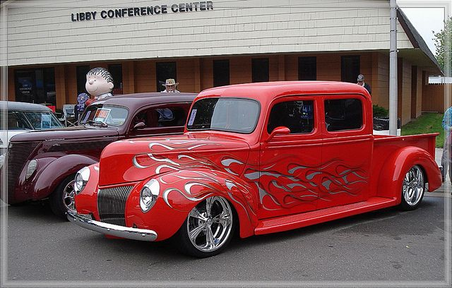 1940 Custom Crew Cab Truck..Re-pin brought to you by agents of #Carinsurance at #HouseofInsurance in Eugene, Oregon