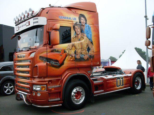 Image - SCANIA TPS. GASTALDI - La passion du camion décoré,américain & tuning - Skyrock.com