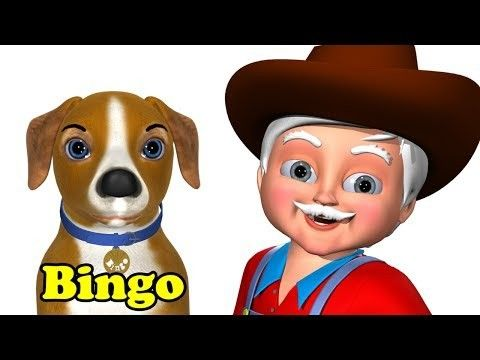 Bingo | 3D Animation | English Rhymes | Nursery Rhymes for kids. This videos is most funable and lessonable for kids