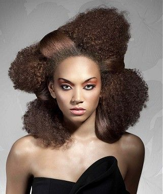 18 best {HIGHLY TEXTURED HAIR STYLES} images on Pinterest