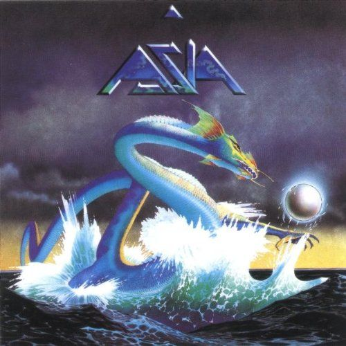 1982 debut album by Asia - an awesome Brit rock group which included former members of several veteran progressive rock bands - bassist/vocalist John Wetton (of Mogul Thrash, King Crimson, Roxy Music, Uriah Heep and Wishbone Ash); guitarist Steve Howe (of Yes); keyboardist Geoff Downes (of Yes) and drummer Carl Palmer (of Atomic Rooster and Emerson, Lake & Palmer)!!