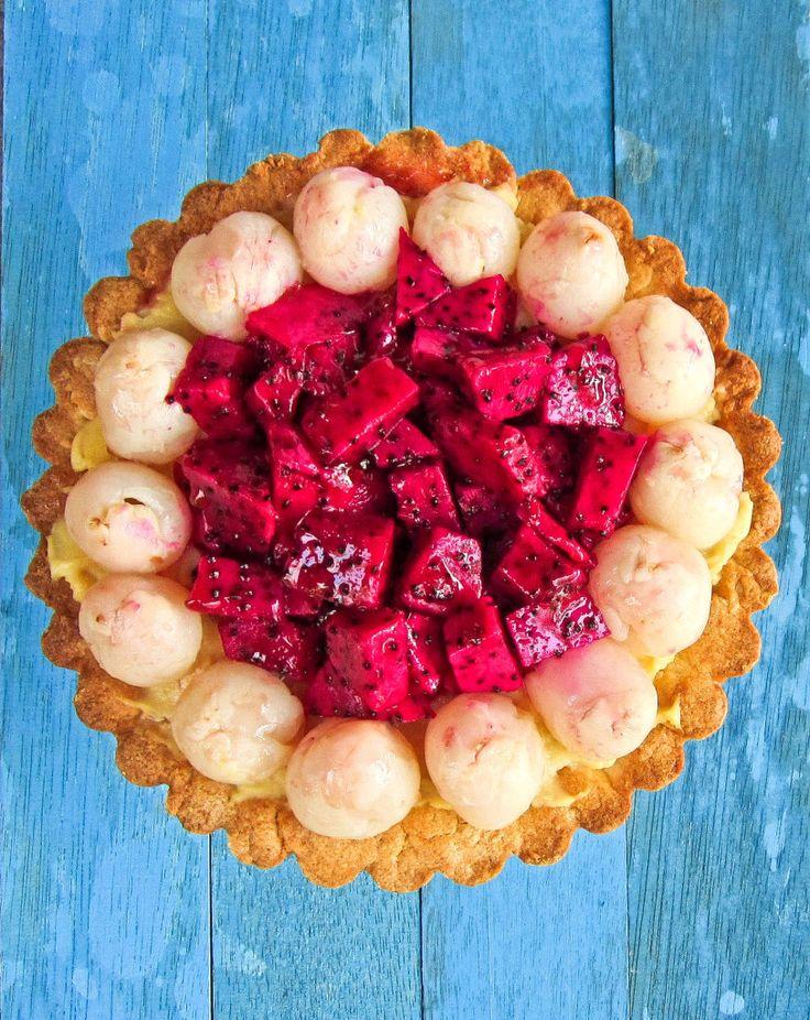 dragon eye fruit fruit tarts