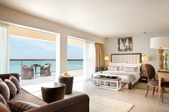Sani Beach Resort, Greece.