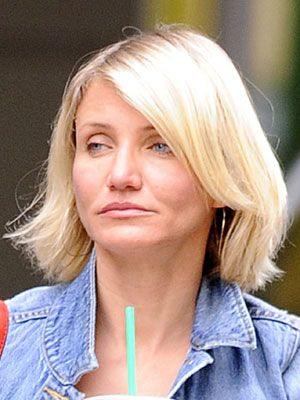 Cameron Diaz  The actress started out her career as a model, and well, we understand why.