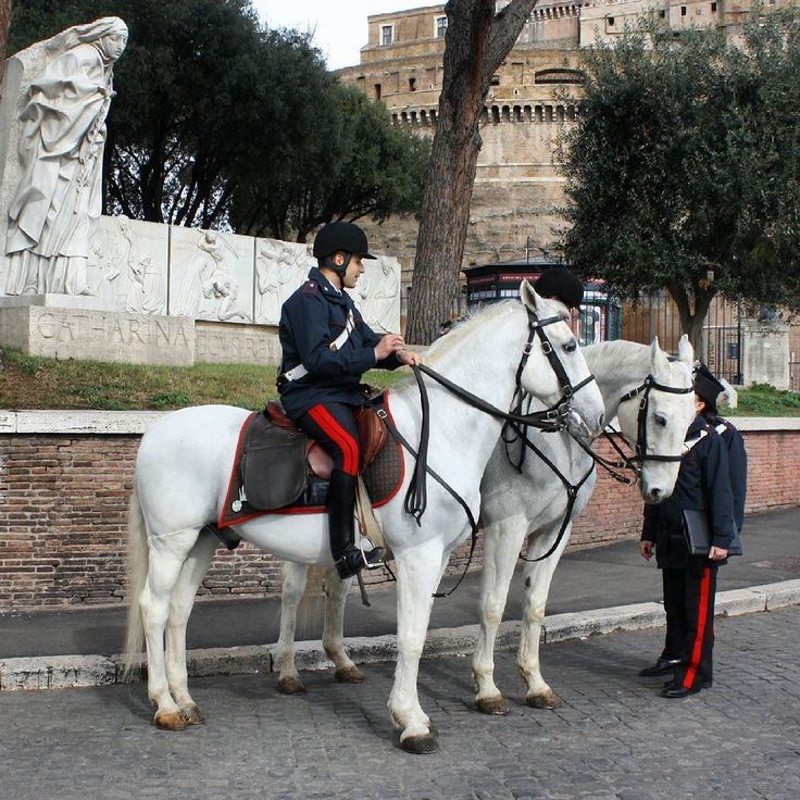Rome / Italy Increased security forces.