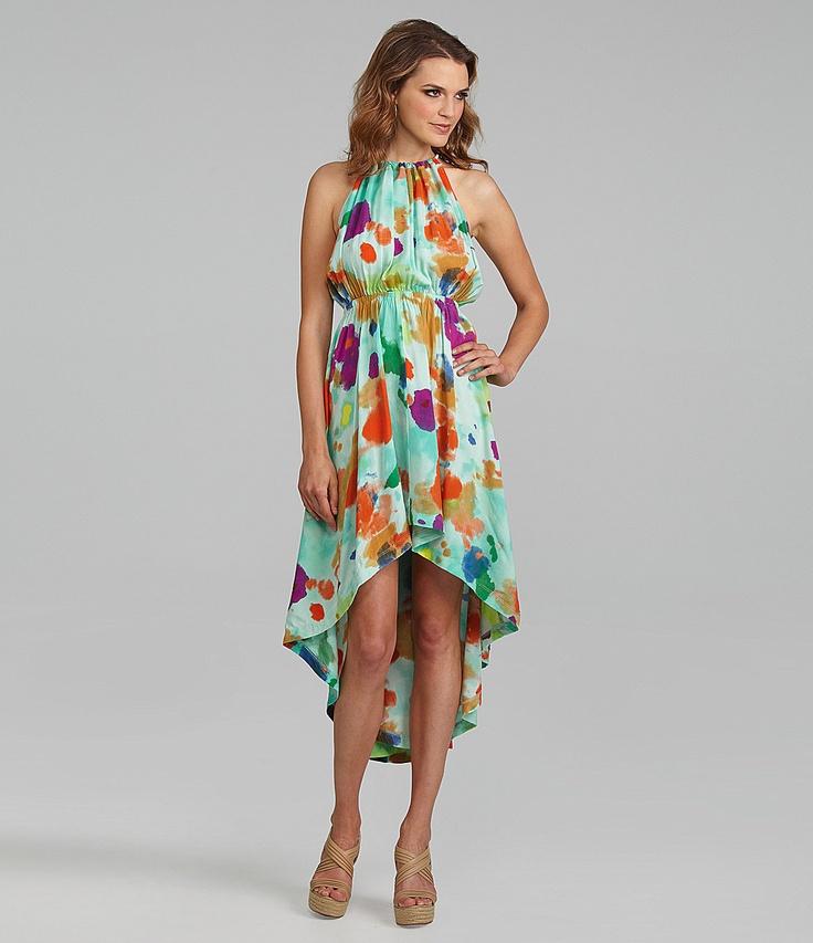 Alternative Apparel Siran Watercolor Hi-Low Dress | Dillards.com