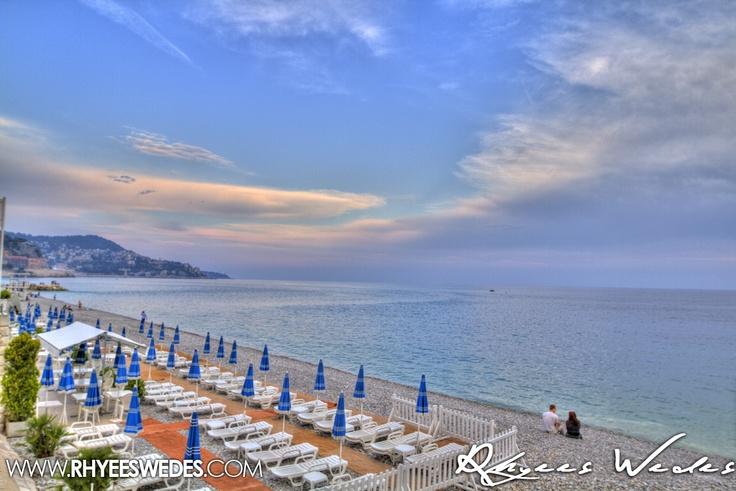 Romantics On Nice Beach, France!!!...