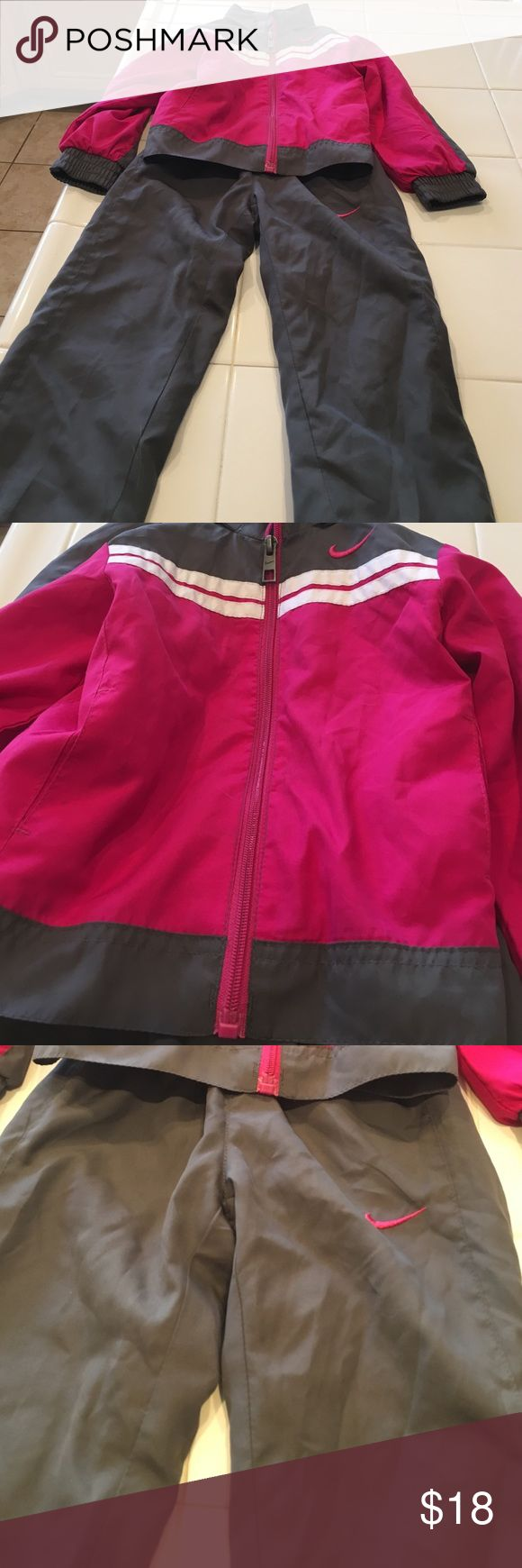 Nike Jogging Suit Matching jacket and pants. Wore once. Nike Matching Sets
