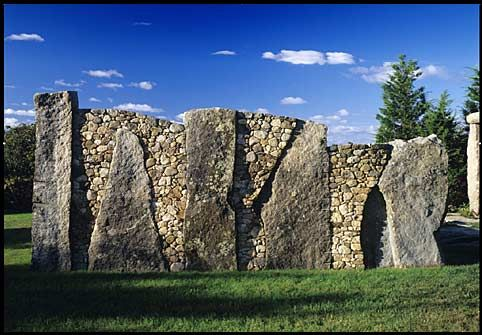 Here are three who work with stone in the Northeast who are deserving of even wider celebrity status than they already have.  They are artists and dry stone wallers. They make the most rigid of materials fluid. Their work dances across landscapes and their craft is slowly disappearing yet their work will stand for centuries.  They are our Rock Stars.
