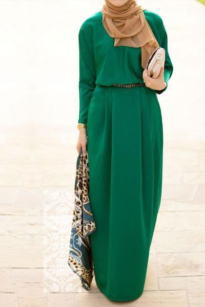 Maha in green