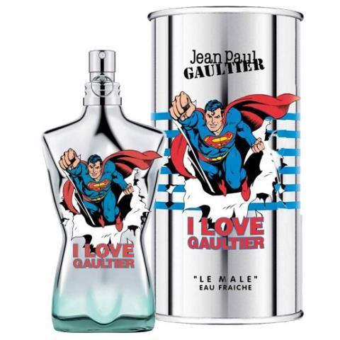 Le Male Superman es la nueva edición limitada de Jean Paul Gaultier. Una fragancia masculina muy fresca y sexy.