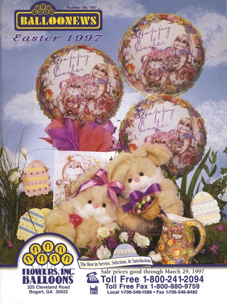 BALLOONEWS: Easter 1997 #burtonandburton