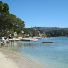 Puerto Pollensa Pine Walk - where we're going on holiday :-)