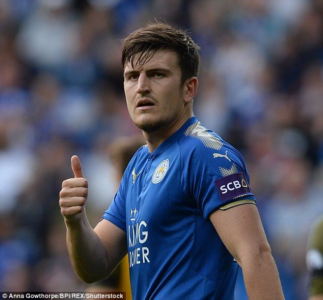 Leicester's Harry Maguire has also earned his first call up to the senior England squad