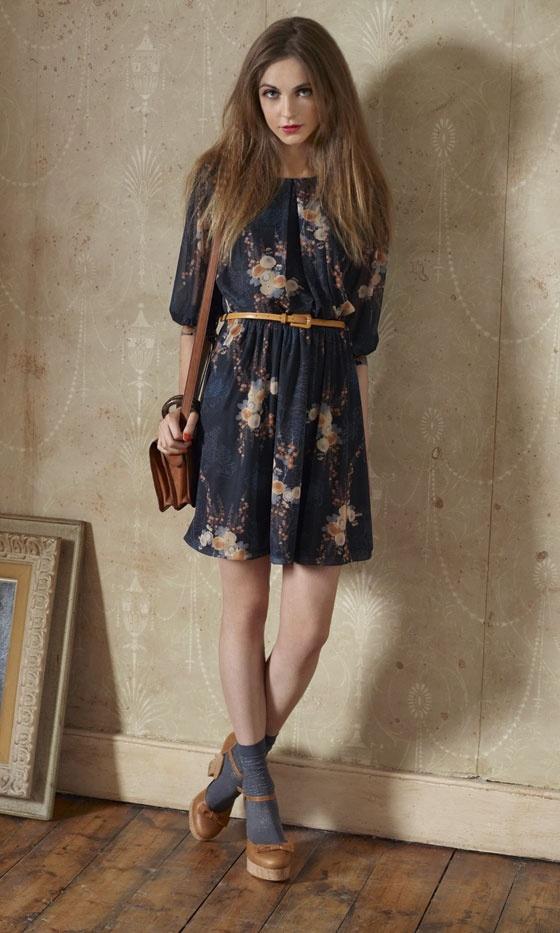 Miss Selfridge 70's look