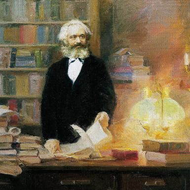 Karl Marx on Religion: The Opiate of the Masses?: Marx In His Studio