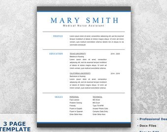Retail Resume Template Word   Sales Resume Template For Word   Resume Cover  Letter Template   Resume Word Template   CV Templates T04  Resume In Word
