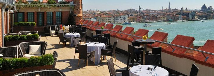 Rooftop restaurant overlooking Venice, Italy  #monogramsvacation