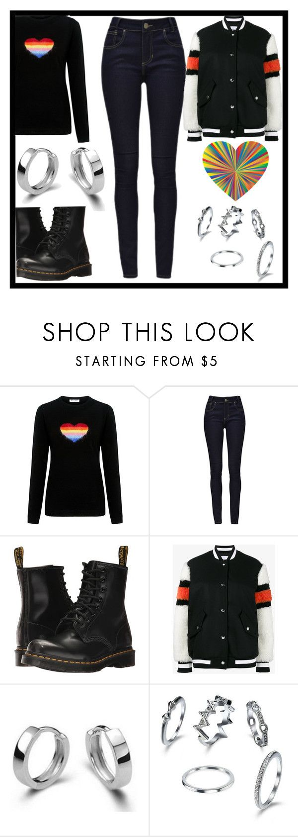 """""""Sweet Dreams, TN"""" by feralkind ❤ liked on Polyvore featuring Bella Freud, Dr. Martens and MSGM"""