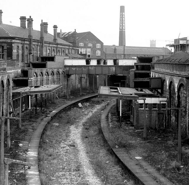 Hanley Station Stoke-on-Trent Staffordshire england