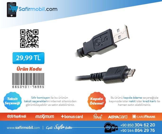 LG L90 D405 Orjinal Micro Usb Şarj ve Data Kablosu  Ürüne Gitmek için Tıklayınız--►https://goo.gl/iWNguQ  #micro #usb #datakablosu #cepaksesuar #safirmobil
