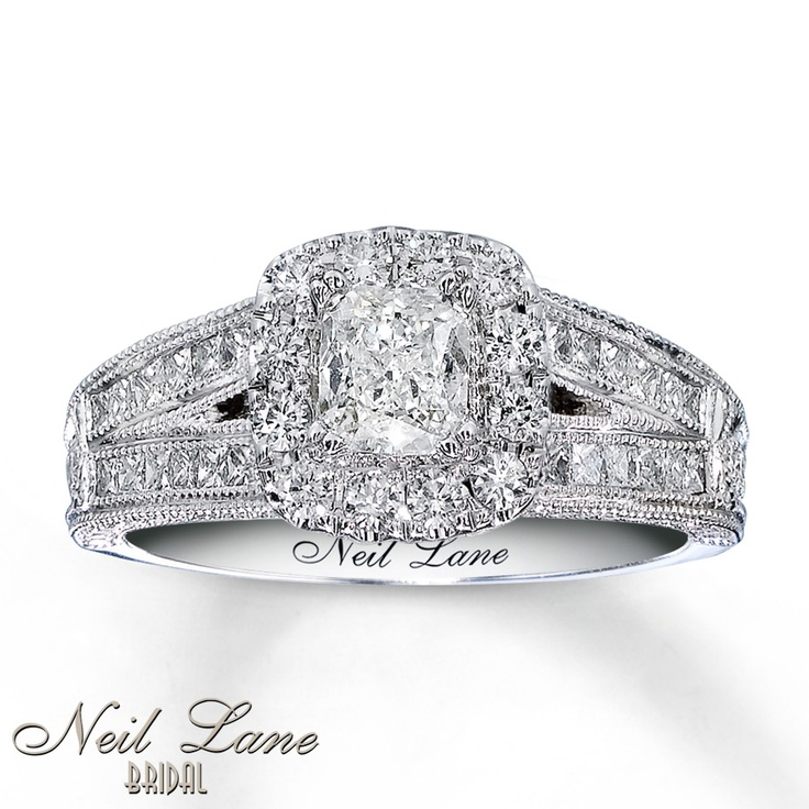 Cushion Cut Engagement Rings From Kay Jewelers 8