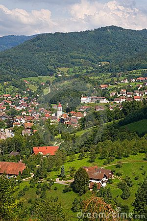 Typical village in the Black Forest, Germany © Pere Sanz