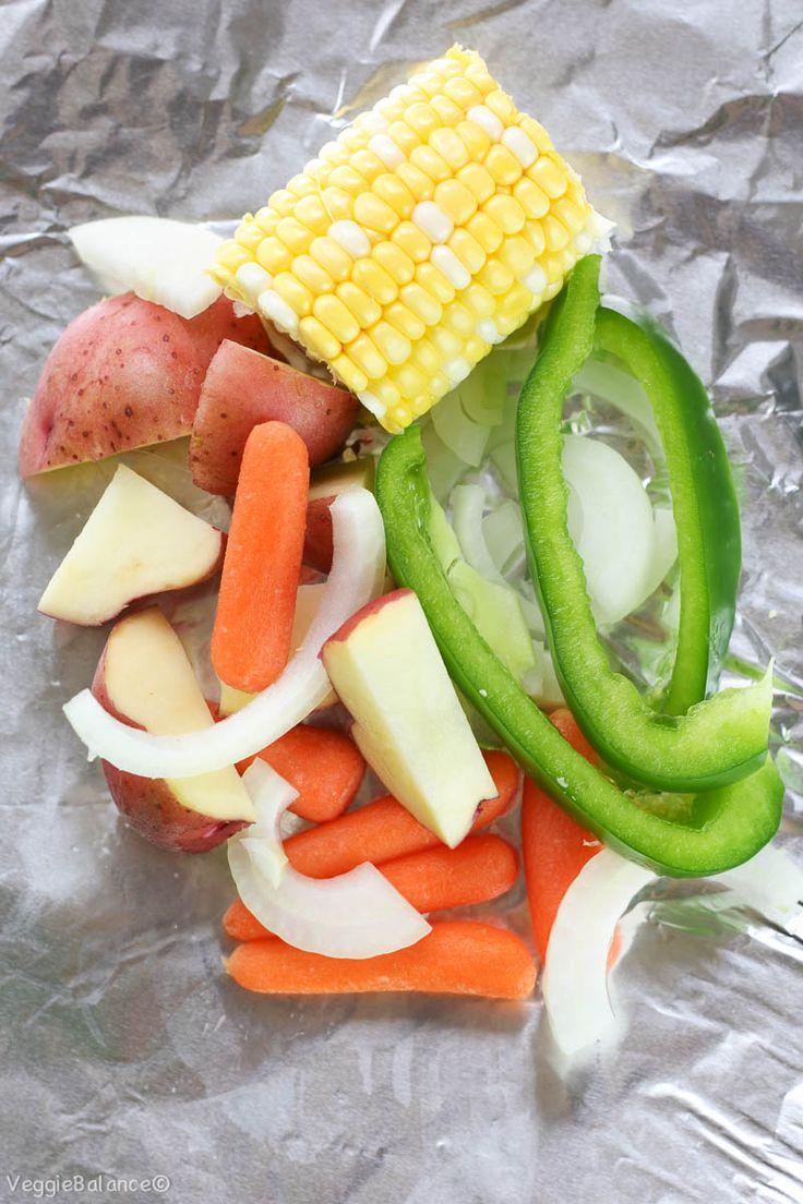 Hobo Dinner Potatoes Carrots Corn