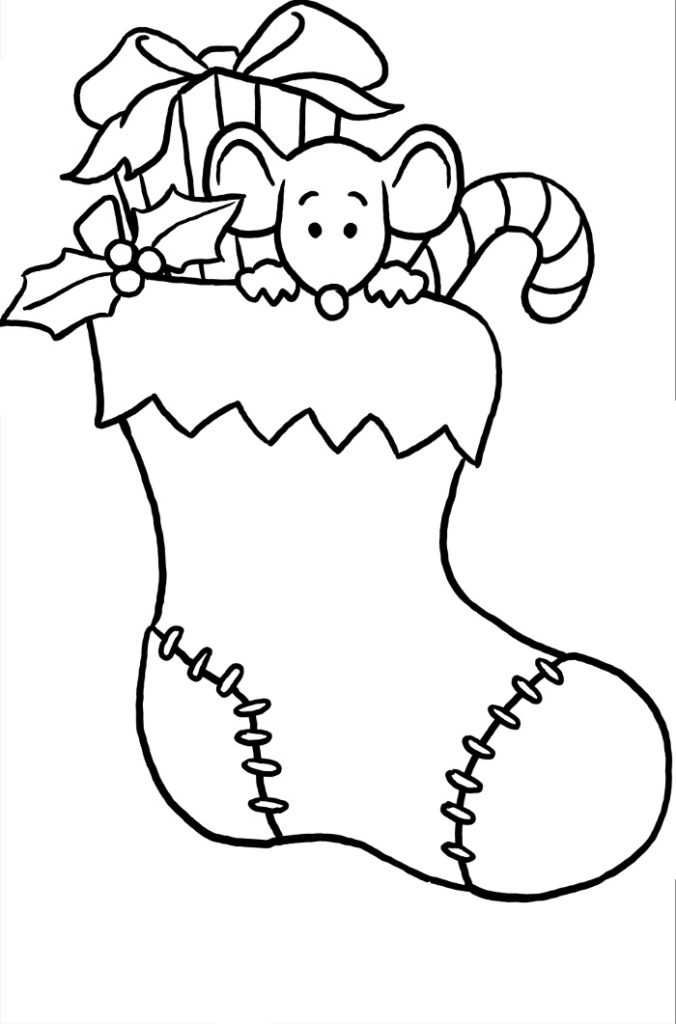 Chirstmas Stocking Coloring Pages Collection Christmas Coloring Pages Christmas Coloring Books Printable Christmas Stocking