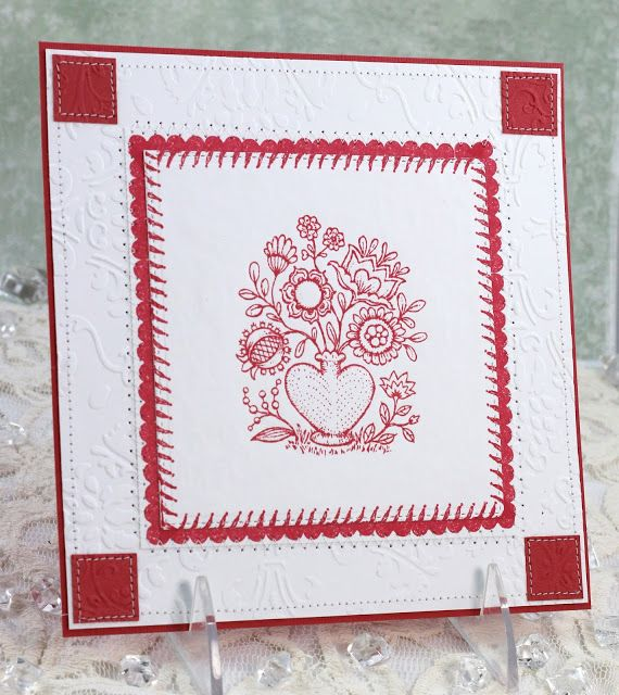 Power Poppy - The Blog: Backgrounds and Borders ~ Using Power Poppy images in unexpected ways