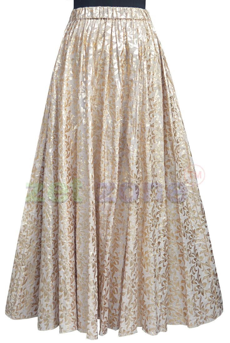 Get a feminine and unique look by wearing this skirt for women from Zet Zone with floral emboss print all over, this skin skirt is at once magical and unassumingly chic. Design in soft jute fabric. It is finished with an elasticated waistband for a smart fit. Pair it with a pastel top and brown boots. Shop Now » https://www.zetzone.com/accessories/Bottom/Palazzo_and_Skirt/Skin-jute-Skirt.html