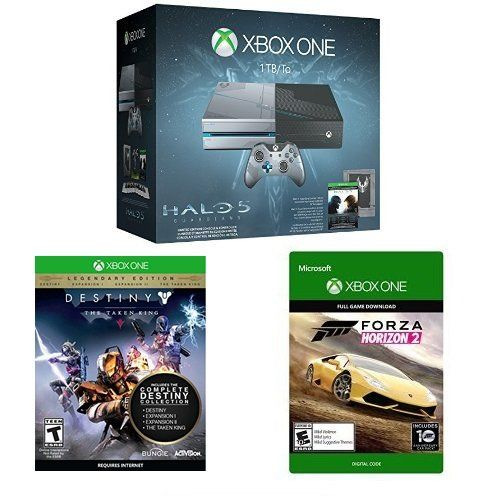 Xbox One 1TB Console – Halo 5: Guardians Limited Edition Bundle with Destiny: The Taken King – Legendary Edition [Physical Disc] + Forza Horizon 2 [Digital Download Code]  http://gamegearbuzz.com/xbox-one-1tb-console-halo-5-guardians-limited-edition-bundle-with-destiny-the-taken-king-legendary-edition-physical-disc-forza-horizon-2-digital-download-code/
