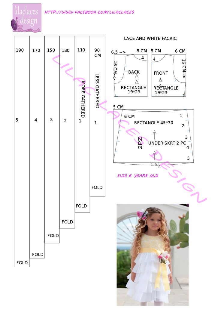 child elegant dress pattern