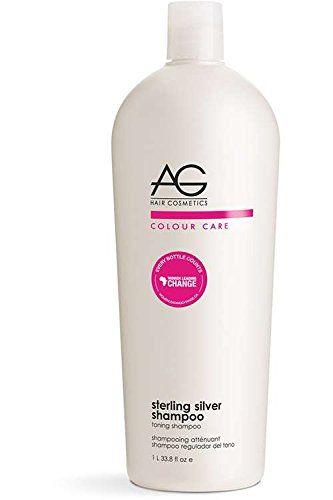 AG Hair Cosmetics: AG Colour Care Sterling Silver Shampoo, 1 Liter