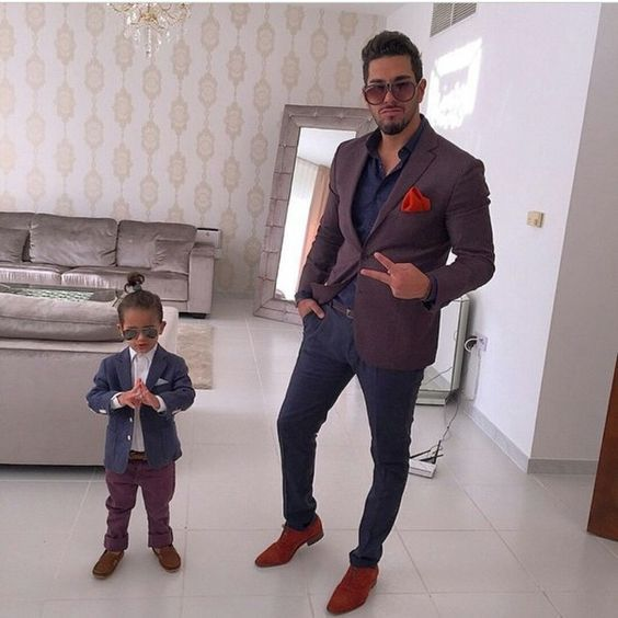Coolest matching dad and son outfits for formal occasions