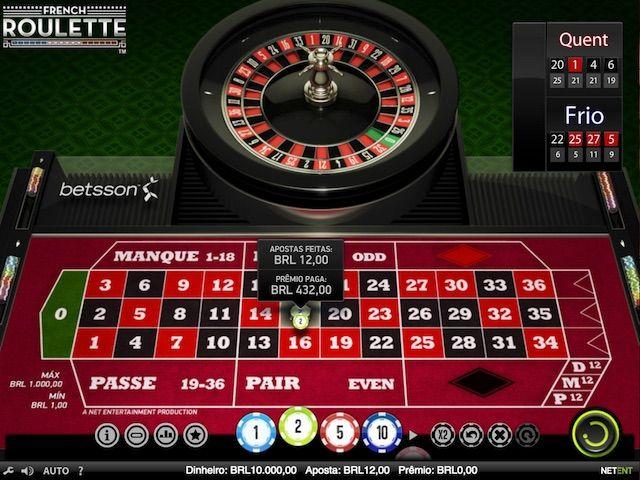 French Roulette é a versão francesa do clássico jogo de roleta. As regras são semelhantes aos da versão clássica. O objetivo é igualar o número em que a bola vai cair. No entanto, ao contrário da roleta francesa, porque se você colocar uma aposta par / ímpar, vermelho / preto ou alto / baixo, você perde metade da sua aposta. Além disso, se a bola cair no zero e você fez outras apostas, então você está preso na tabela e ganhou ou perdeu, até o próximo turno.