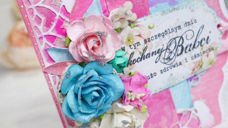Kartka na Dzień Babci /  Grandmother's Day Card - card making