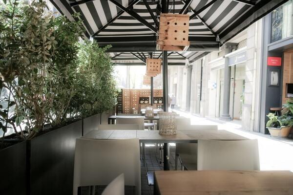 #RestaurantLoria Terrace #GaleraGroup