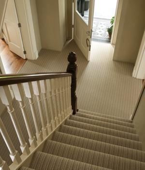 Wellington Stripe by Ulster Carpets in Laneve Wool