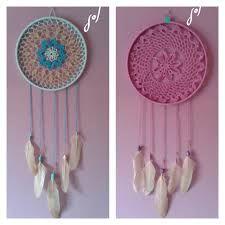 Resultado de imagen para patron pluma atrapasueños crochet