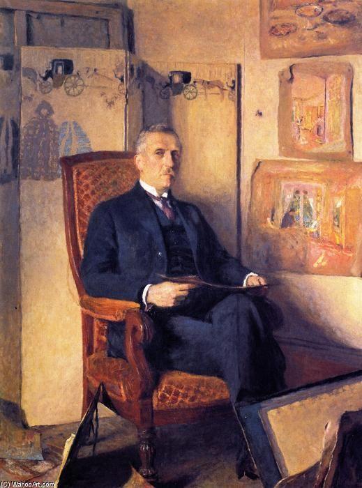 Marcel Kapferer-c.1927 by Edouard Vuillard